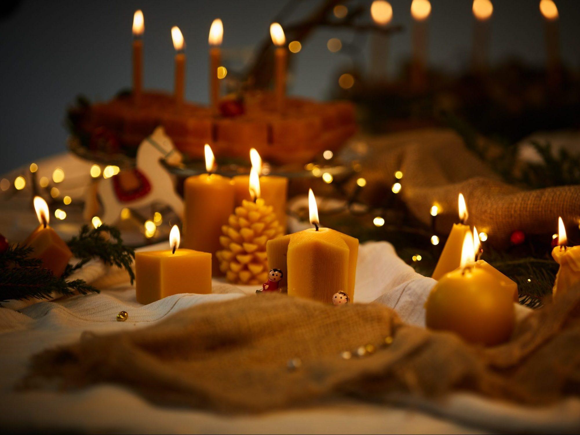 Sviečky a všetko z vosku